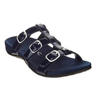 Vionic Adjustable Misa Slide Sandals
